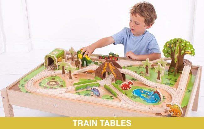 Bigjigs Toys Train Tables