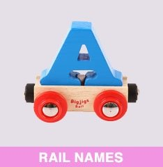 Bigjigs Toys Rail Names