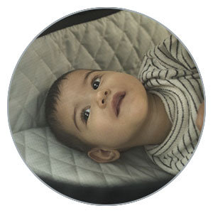 Carrycot with panoramic ventilation